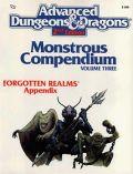 MONSTROUS COMPENDIUM 03. FORGOTTEN REALMS I.