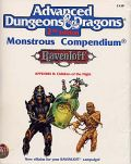 MONSTROUS COMPENDIUM 15. RAVENLOFT II - CHILDREN OF THE NIGHT