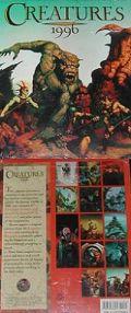 CREATURES 1996 WALL CALENDAR