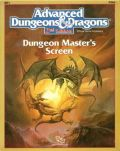 DUNGEON MASTER SCREEN AD&D (used)