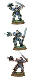 Space Marines - SPACE WOLF SCOUTS WITH ASSAULT WEAPON
