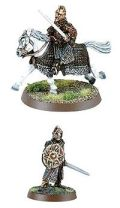 ROTK - THEODEN FOOT AND MOUNTED