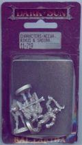 D&D Miniatures - Dark Sun - Neeva, Rikus, Sadira