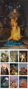 ROWENA FANTASY ART TRADING CARDS display set