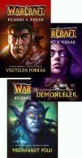 Warcraft - ŐSÖK HÁBORÚJA TRILÓGIA (Végtelen forrás, Démonlélek, Meghasadt föld)