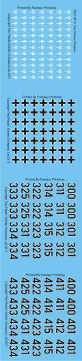 1/72 WW2 Decals - German 2nd Panzer Division
