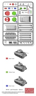 15mm WW2 Allied Reinforcements M4A3 (Late) Sherman