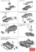15mm WW2 Allied Reinforcements M5 Halftrack