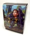 KÁRTYATARTÓ DOBOZ / DECK BOX - WOW - Dwarf Warrior Chloe Mithrilbolt