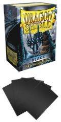 KÁRTYAVÉDŐ / DECK PROTECTORS - Dragon Shield Classic Sleeves Black (100)