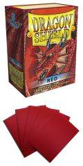 KÁRTYAVÉDŐ / DECK PROTECTORS - Dragon Shield Classic Sleeves Red (100)