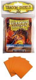 KÁRTYAVÉDŐ / DECK PROTECTORS - Dragon Shield Classic Sleeves Orange (50)