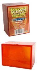 KÁRTYATARTÓ DOBOZ / DECK BOX - Dragon Shield Gaming Box - Orange