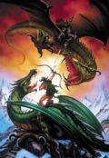 PUZZLE 300 DB - BATTLE OF THE DRAGONS