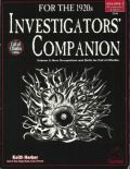 Call of Cthulhu - INVESTIGATORS' COMPANION 2 - Occupations & Skills 1920