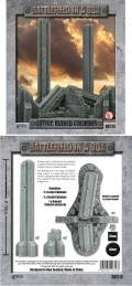 28mm Scenery - Prepainted Gothic Ruined Columns