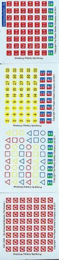 1/72 WW2 Decals - British 7th Armoured Division (Normandy)