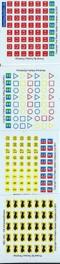 1/72 WW2 Decals - British 11th Armoured Division