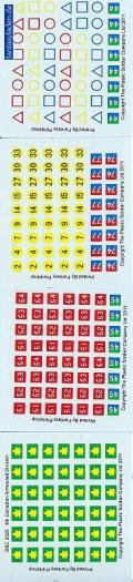 1/72 WW2 Decals - British 4th Canadian Armoured Division