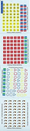 1/72 WW2 Decals - British 1st Polish Armoured Division