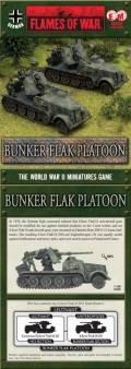 15mm WW2 German Bunker Flak Platoon