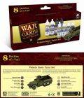 Vallejo Paint Sets - WW2 Wargames - Vehicle Basics Paint Set (8)
