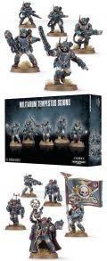 Imperial Guard - MILITARUM TEMPESTUS SCIONS Command Squad / Troops