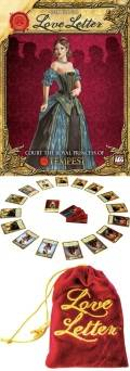 LOVE LETTER Card Game Tempest Clamshell Edition (2-4)