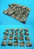 Bases - 20x20mm Undead Bases (20)