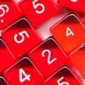10d6 átlátszó piros / 10d6 Gem Red