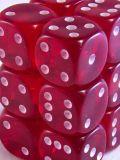 10d6 pöttyös átlátszó borvörös / 10d6 Spot Gem Wine Red