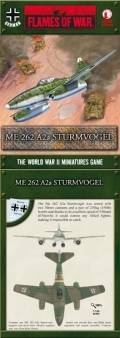 15mm WW2 German ME 262 A2A Sturmvogel