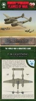 15mm WW2 US P-38 Lightning (1:144) (1)