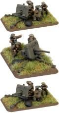 15mm WW2 British 2 pdr Gun (BEF) (2)