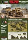 15mm WW2 German Heavy Artillery Battery, 15cm sFH18 Howitzers