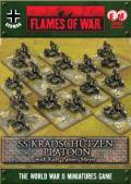 15mm WW2 German Kradschutzen Platoon (and HQ)