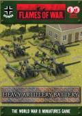 15mm WW2 German Heavy Artillery Battery