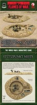 15mm WW2 German Hellfire and Back Stutzpunkt Nests