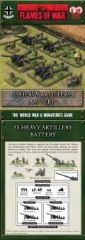 15mm WW2 German SS Heavy Artillery Battery