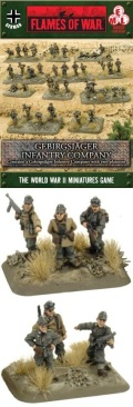 15mm WW2 German Gebirgsjäger Infantry Company