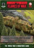 15mm WW2 German BP44 Armoured Train Infantry Car