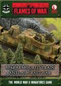 15mm WW2 German BP44 Armoured Train Anti-Aircraft Car