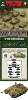 15mm WW2 German Hetzer Platoon (with Flammpanzer Option) (5)