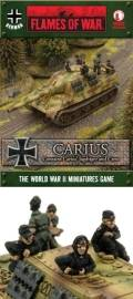 15mm WW2 German Jagdtiger with Otto Carius