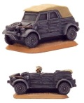 15mm WW2 German Kübelwagen (3)