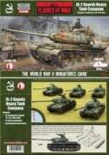15mm WW2 Russian IS-2 Guards Heavy Tank Company