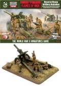 15mm WW2 Russian Heavy Artillery Battalion (122/152mm)