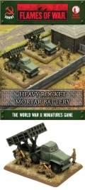 15mm WW2 Russian Heavy Rocket Mortar Battery