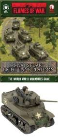 15mm WW2 US M5A1 Stuart Platoon (5)
