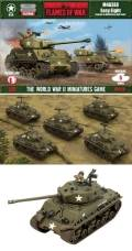 15mm WW2 US M4A3E8 Easy Eight (5)